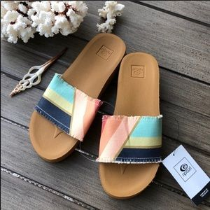 🌴🔆RIP CURL- POOL PARTY SLIDE SANDALS 🔆🌴